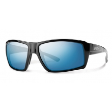 Challis Black Techlite Polarized Blue Mirror by Smith Optics
