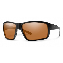 Colson Matte Black ChromaPop Polarized Copper by Smith Optics in Asheville Nc