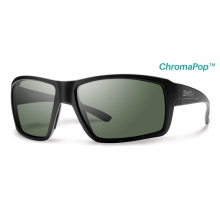 Colson Matte Black ChromaPop+  Polarized Gray Green by Smith Optics
