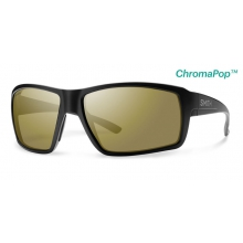 Colson Matte Black ChromaPop+  Polarized Bronze Mirror by Smith Optics in Bozeman Mt