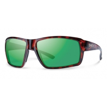 Colson Tortoise Techlite Polarized Green Mirror by Smith Optics