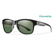 Wayward Black ChromaPop Polarized Gray Green by Smith Optics