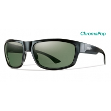 Dover Black ChromaPop Polarized Gray Green by Smith Optics
