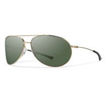 Rockford Matte Gold Polarized Gray Green by Smith Optics