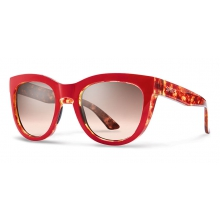 Sidney Red Tortoise Sienna Gradient by Smith Optics