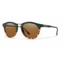 Questa Olive Tortoise Polarized Brown by Smith Optics in Charleston Sc
