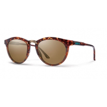 Questa Woolrich Yellow Tortoise Split Polarized Brown by Smith Optics