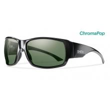 Dockside Black ChromaPop Polarized Gray Green by Smith Optics