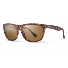 Tioga Woolrich Matte Vintage Havana Polarized Brown by Smith Optics in Revelstoke Bc