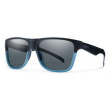 Lowdown XL Matte Black Corsair Polarized Gray by Smith Optics in Medicine Hat Ab