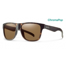Lowdown XL Matte Tortoise ChromaPop Polarized Brown by Smith Optics in Sandy Ut