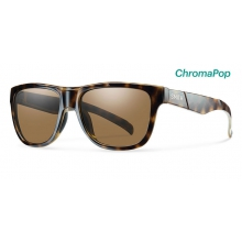 Lowdown Slim Tortoise ChromaPop Polarized Brown by Smith Optics in Quesnel Bc