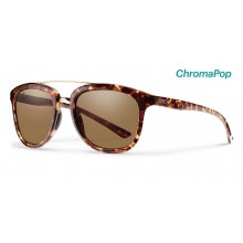Clayton Yellow Tortoise ChromaPop Polarized Brown by Smith Optics in Charleston Sc