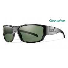 Frontman Black ChromaPop Polarized Gray Green by Smith Optics