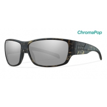Frontman Matte Camo ChromaPop Polarized Platinum by Smith Optics in Sylva Nc