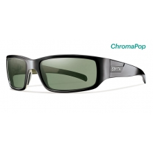 Prospect Black ChromaPop Polarized Gray Green by Smith Optics