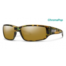 Prospect Flecked Green Tortoise ChromaPop Polarized Bronze Mirror by Smith Optics in Edwards Co