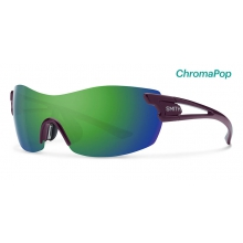 PivLock Asana Black Cherry ChromaPop Sun Green Mirror by Smith Optics in Chino Ca