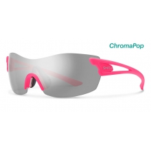 PivLock Asana Matte Shocking Pink ChromaPop Platinum by Smith Optics