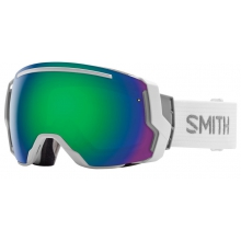 I/O 7 White Green Sol-X Mirror by Smith Optics
