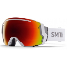 I/O 7 White Red Sol-X Mirror by Smith Optics