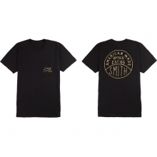 American Made Mens Tee Black Small by Smith Optics