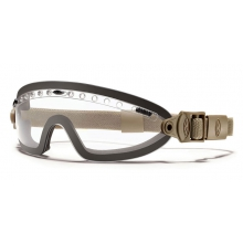 Boogie Sport Goggle Tan 499 Clear Mil-Spec by Smith Optics