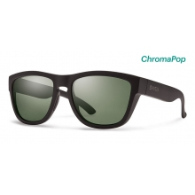Clark Matte Black ChromaPop Polarized Gray Green by Smith Optics
