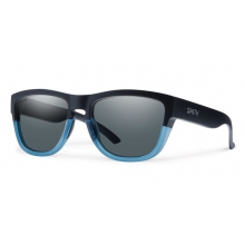 Clark Matte Black Corsair Polarized Gray by Smith Optics