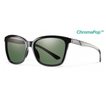 Colette Black ChromaPop Polarized Gray Green by Smith Optics in Chino Ca