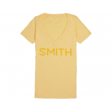 Distilled Women's T-Shirt Banana Cream Large by Smith Optics