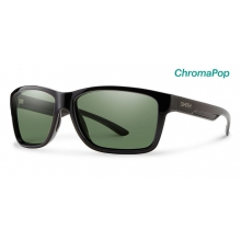 Drake Black ChromaPop Polarized Gray Green by Smith Optics in Asheville Nc