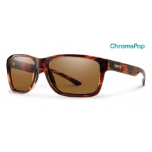 Drake Tortoise ChromaPop Polarized Brown by Smith Optics in Ponderay Id