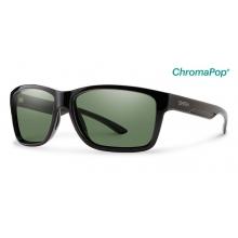 Drake Black ChromaPop+  Polarized Gray Green by Smith Optics