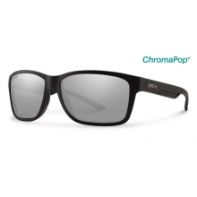 Drake Matte Black ChromaPop+  Polarized Platinum by Smith Optics