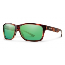 Drake Tortoise Techlite Polarized Green Mirror by Smith Optics in Glenwood Springs CO