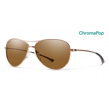 Langley Matte Desert ChromaPop Polarized Brown by Smith Optics