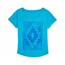 Lasso Women's T-Shirt Turquoise Extra Large by Smith Optics in West Vancouver Bc