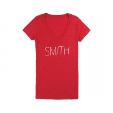 Leila Women's Tee Red Large by Smith Optics