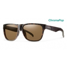 Lowdown Matte Tortoise ChromaPop Polarized Brown by Smith Optics in Atlanta Ga