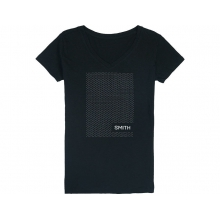 Micro Knit Women's T-Shirt Black Medium