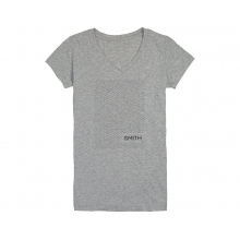 Micro Knit Women's T-Shirt Heather Gray Large by Smith Optics