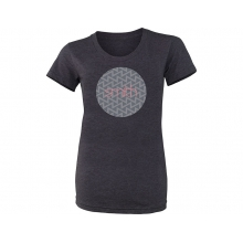 Omega Womens Tee Heather Black Large by Smith Optics
