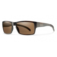 Outlier Matte Tortoise ChromaPop Polarized Brown by Smith Optics