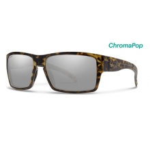 Outlier XL Matte Camo ChromaPop Polarized Platinum by Smith Optics in Edwards Co