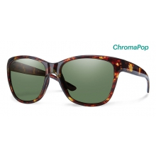 Ramona Tortoise ChromaPop Polarized Gray Green by Smith Optics