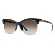 Rebel Matte Black Polarized Brown Gradient