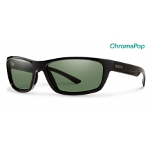 Ridgewell Black ChromaPop Polarized Gray Green by Smith Optics