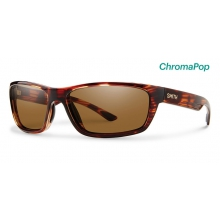 Ridgewell Tortoise ChromaPop Polarized Brown by Smith Optics in Edwards Co