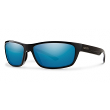 Ridgewell Black Techlite Polarized Blue Mirror by Smith Optics